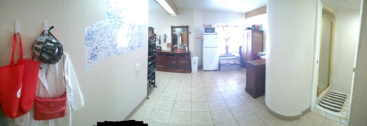 Panoramic from the door